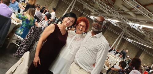 בחברת שני אמנים בערב הגאלה-min