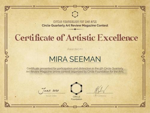 CQAR5-ArtisticExcellenceCertificate-Mira Seeman-min
