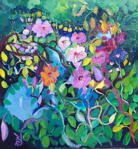 Flowers 0il 80x80-min