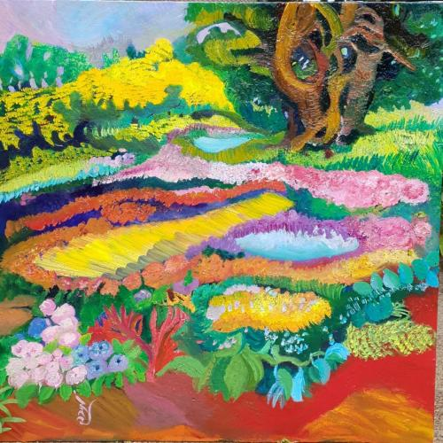 The Botanic garden New Ziland 80x80-min