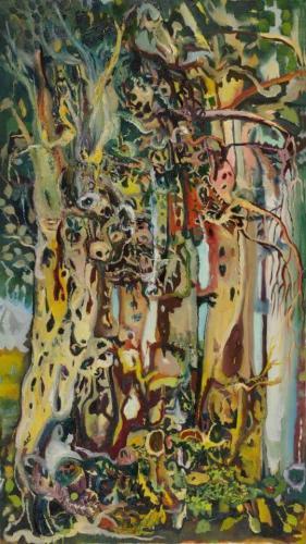 דמויות בעצים