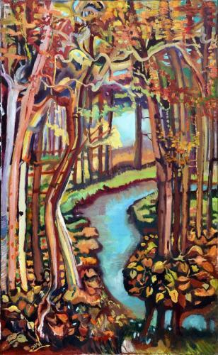 יער ואגם