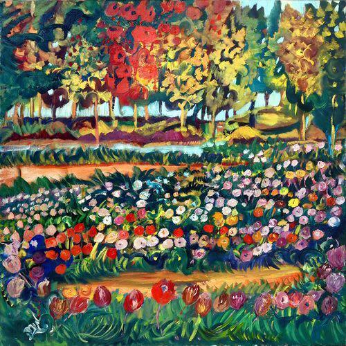 פרחים באחו -נמסר