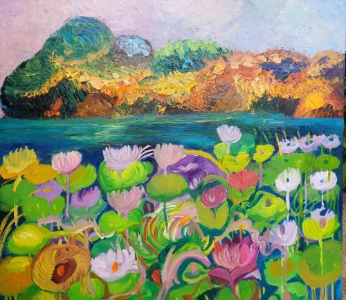 Water flowers 80x80 New ziland-min